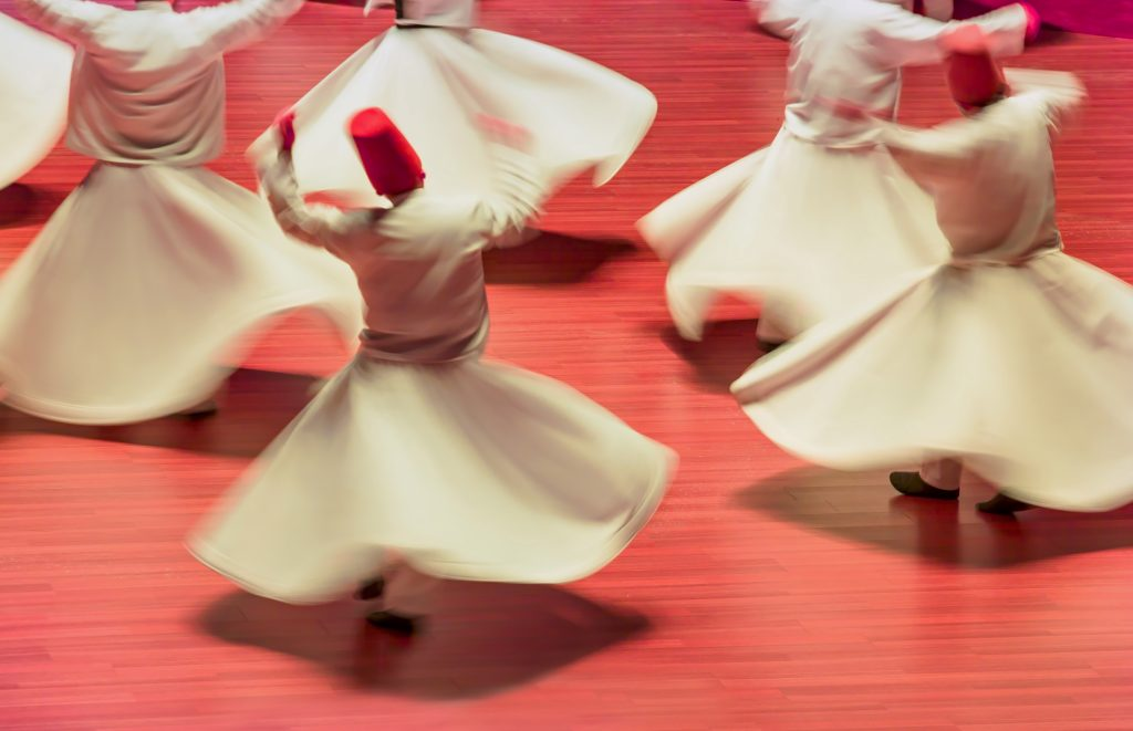 traditional whirling dervishes in turkey